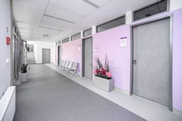 GIA clinic   chodba