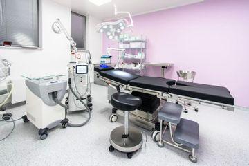 GIA clinic zákrokový sál   vyšetřovna