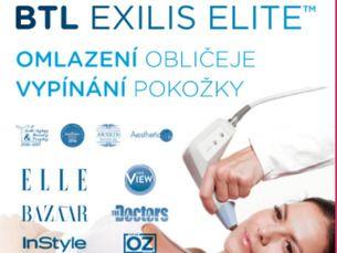 Radiofrekvence Exilis Elite – facelifting omlazení obličeje