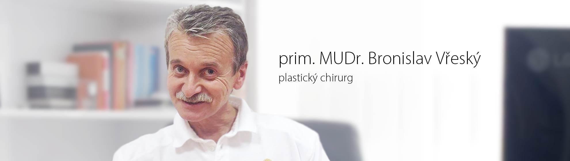 prim. MUDr. Bronislav Vřeský