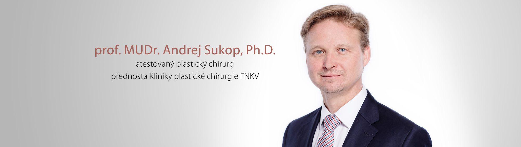 prof. MUDr. Andrej Sukop Ph.D.