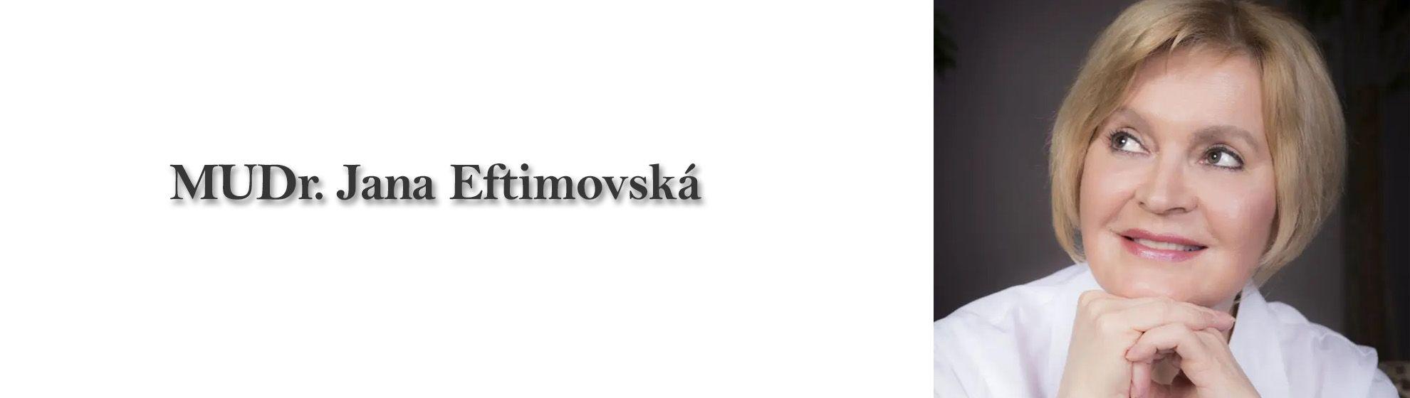 MUDr. Jana Eftimovská