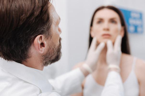 Zmenšení prominující brady, úprava asymetrie brady