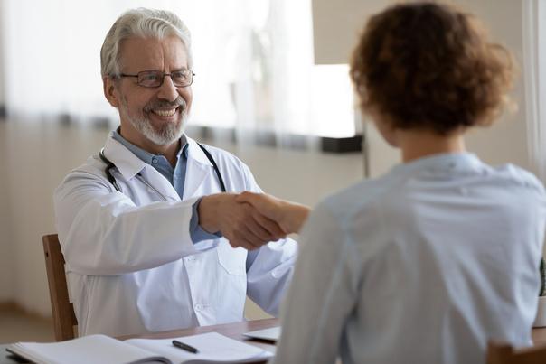 Jak probíhá první schůzka s lékařem?