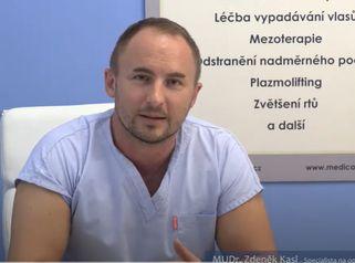 MUDr. Kasl specialista na operaci víček