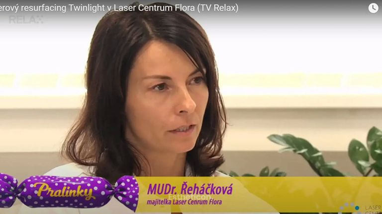 Laserový resurfacing pokožky Twinlight