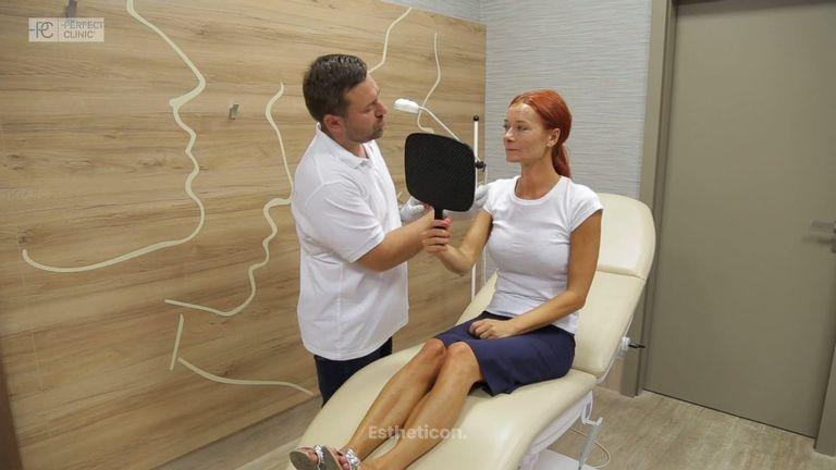 Odstranění vrásek a váčků pod očima v Perfect Clinic