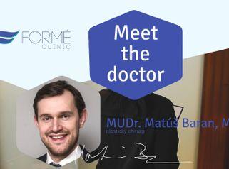 Meet the doctor: MUDr. Matúš Baran, MBA