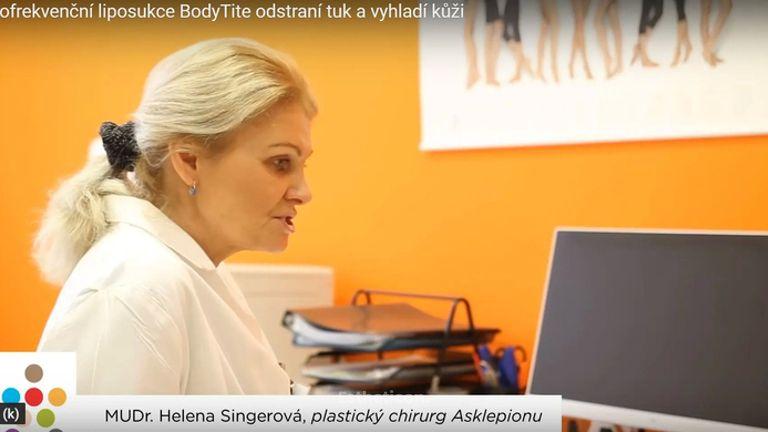 Radiofrekvenční liposukce BodyTite